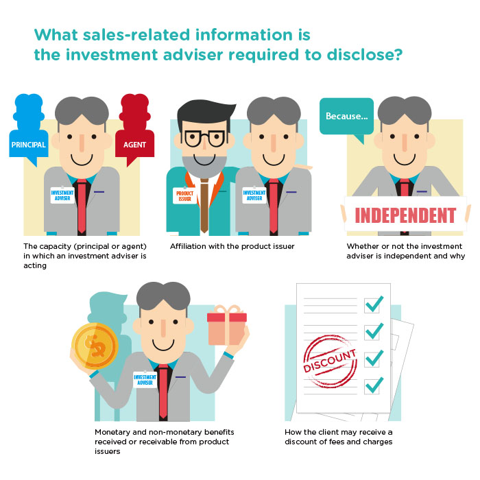 Disclosure of sales-related information for better transparency
