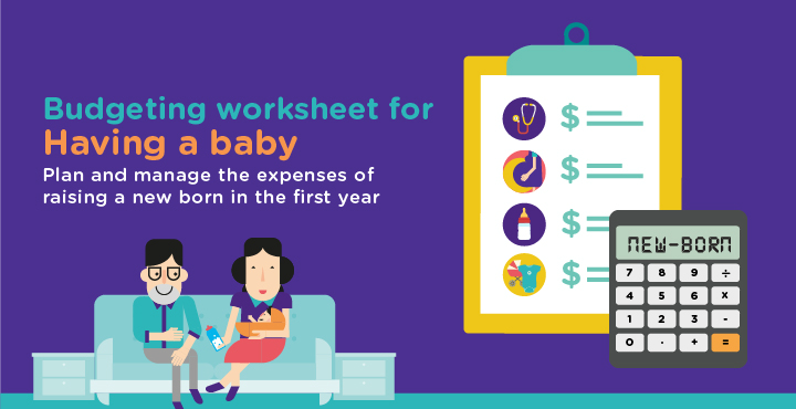 Budgeting worksheet for having a baby