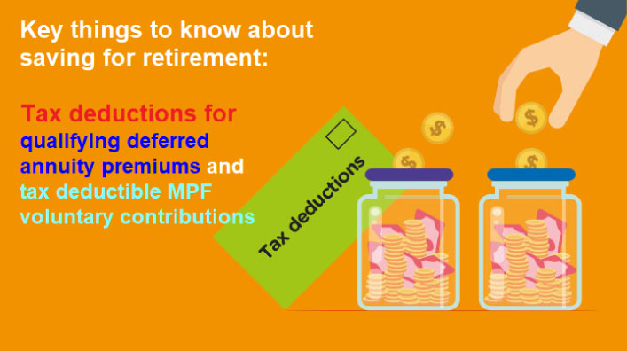 Tax deductions for retirement savings