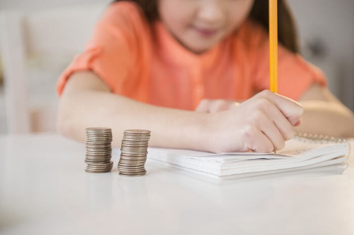 Encourage children to keep tracking their income and expenses