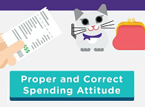 Proper and Correct Spending Attitude<br>[Aged 9-11]