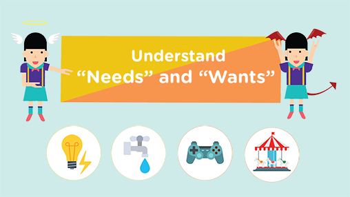 "Understand ""Needs"" and ""Wants"""