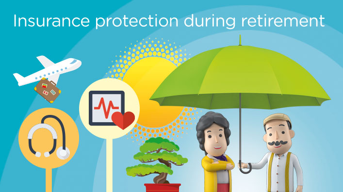 Insurance protection during retirement